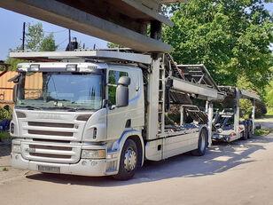 автовоз SCANIA P420 + прицеп автовоз