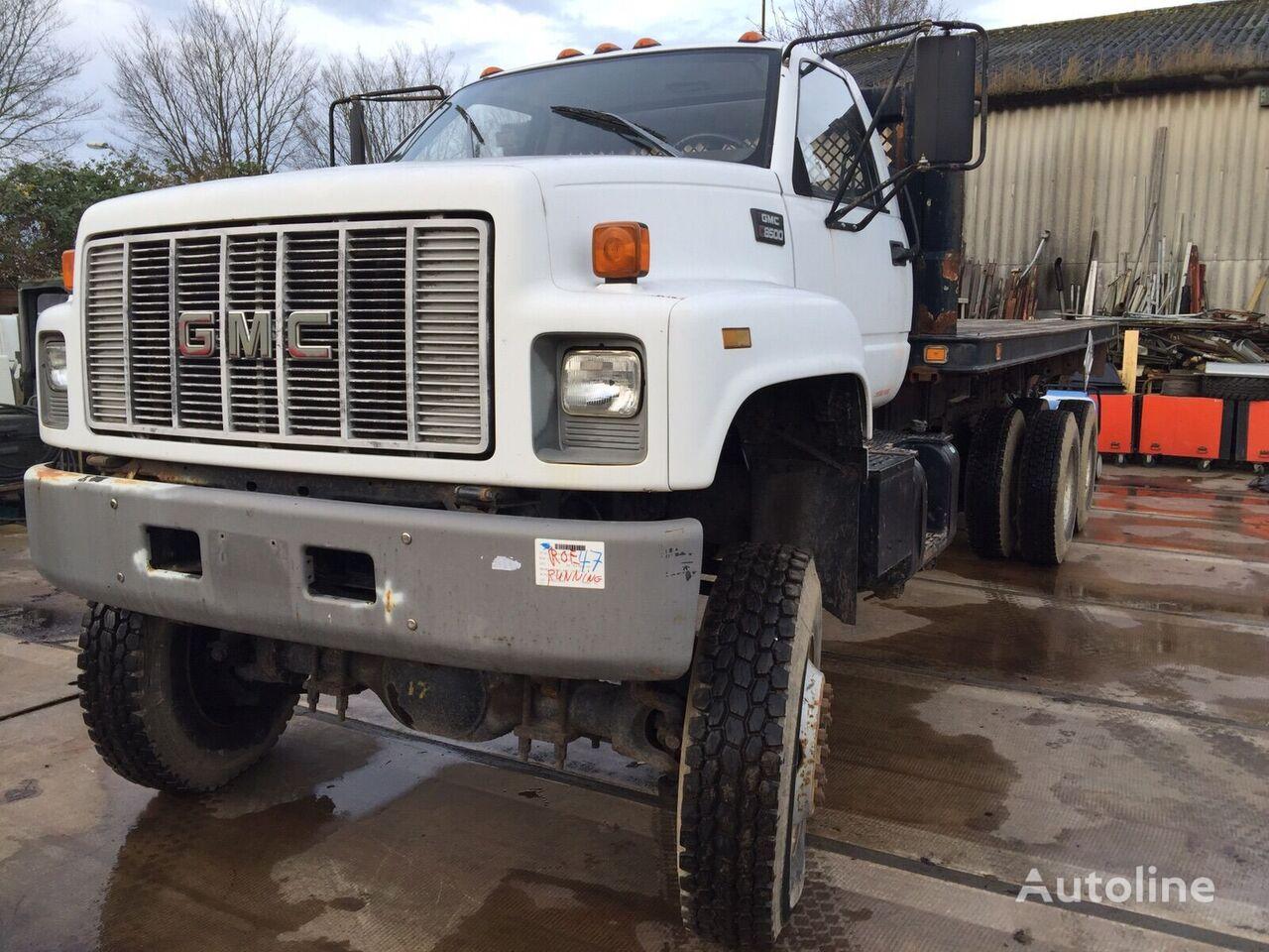 грузовик платформа GMC  3116 Engine Flatbed truck