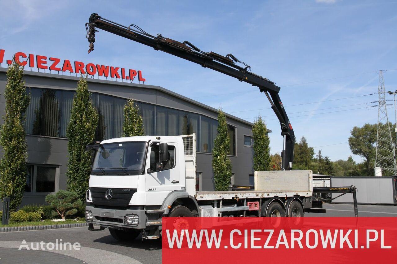 грузовик платформа MERCEDES-BENZ AXOR 2633 6×4 BDF