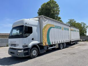 грузовик штора RENAULT Premium 420 + прицеп штора