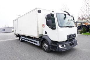 изотермический фургон RENAULT D12 , E6 , 4x2 , Box 18 EPAL side door  , tail lift Dhollandia