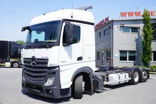 контейнеровоз MERCEDES-BENZ Actros 2542 , E6 , 6X2 , MEGA , BDF , chassis 7,9m , steer axle