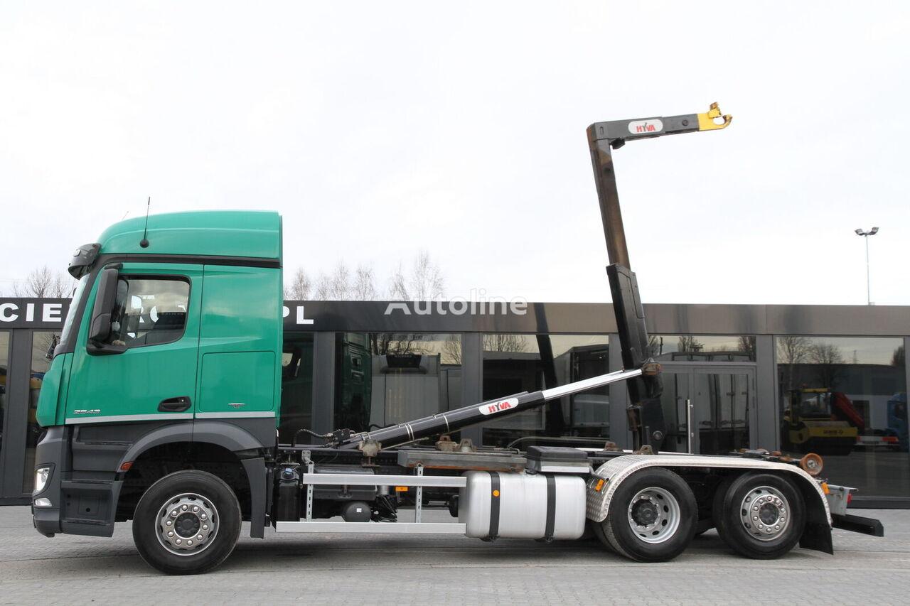 крюковой мультилифт MERCEDES-BENZ AROCS 2543/ 6x2 / e6 / hook lift / new engine 1k km !