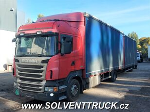 тентованный грузовик SCANIA R400,Euro 5, Automat + прицеп тентованный