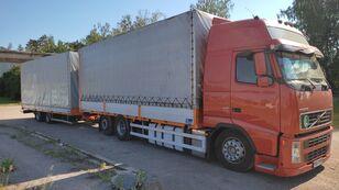 тентованный грузовик VOLVO FH 440 + прицеп тентованный