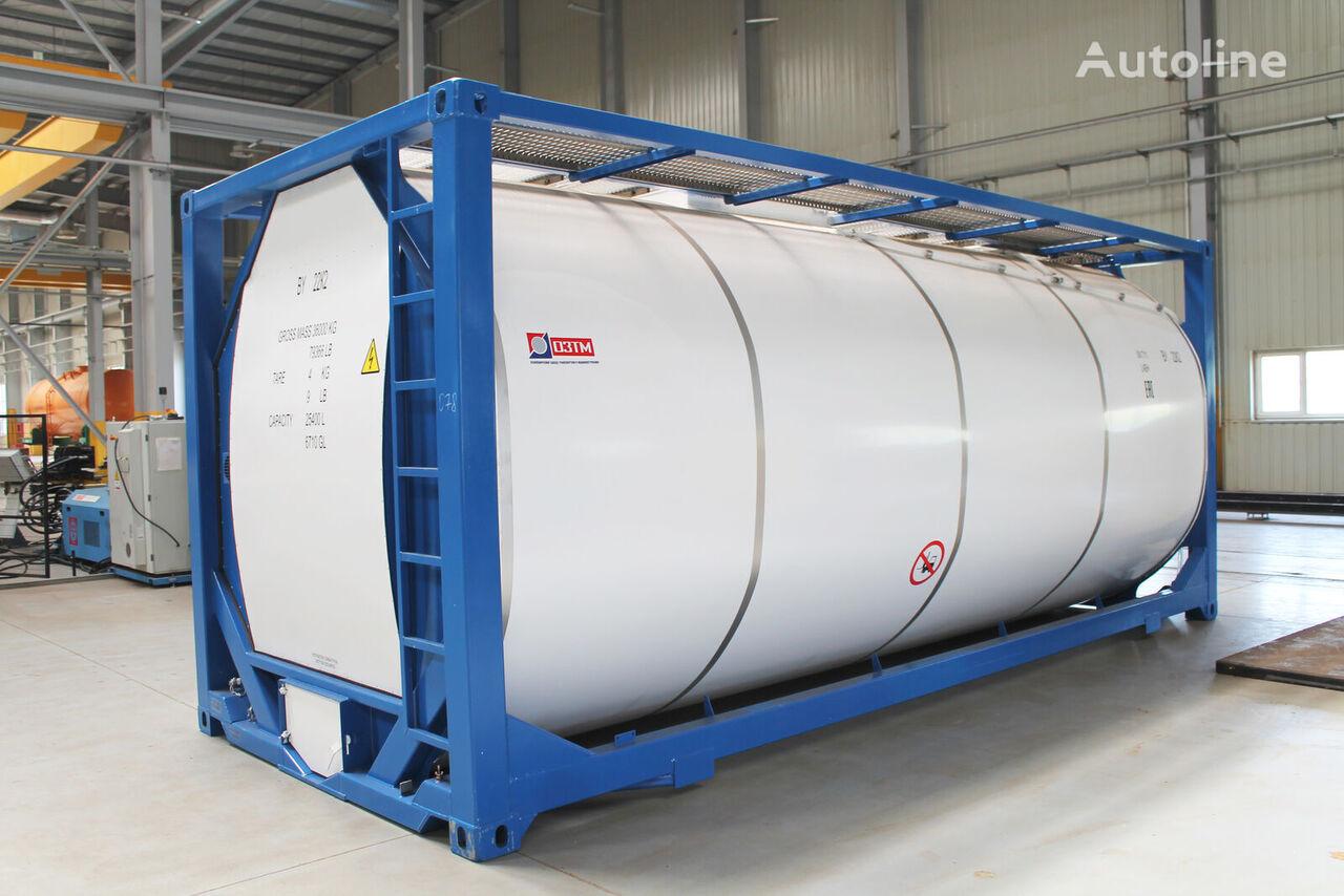 новый танк-контейнер 20 футов T11-254