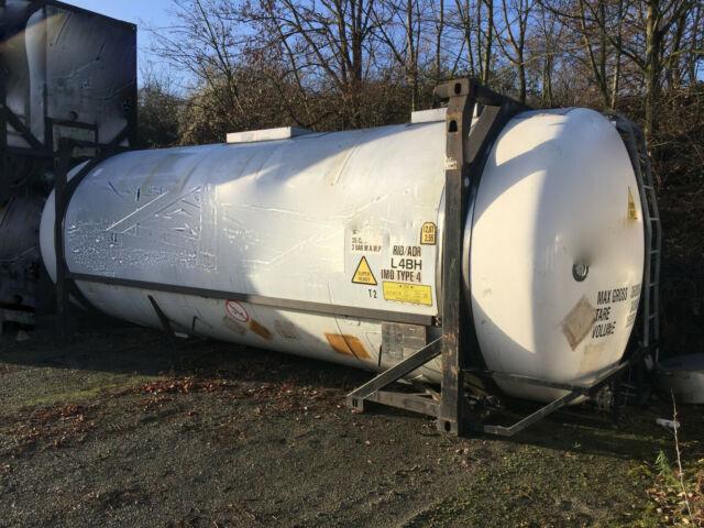 танк-контейнер 20 футов VAN HOOL 26000