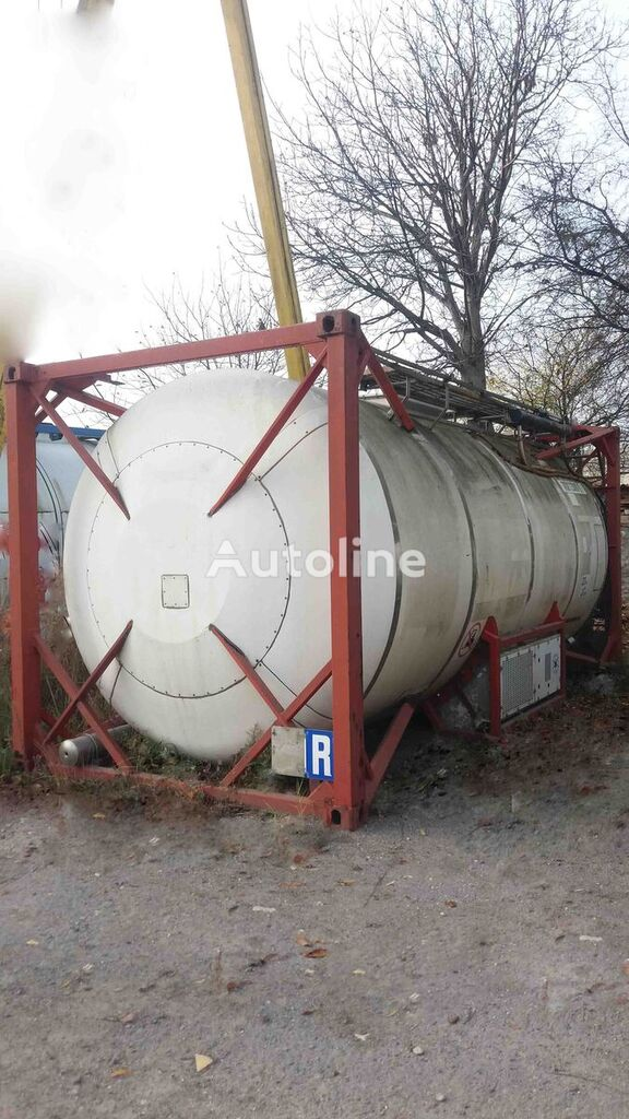танк-контейнер 20 футов VAN HOOL Охолодження