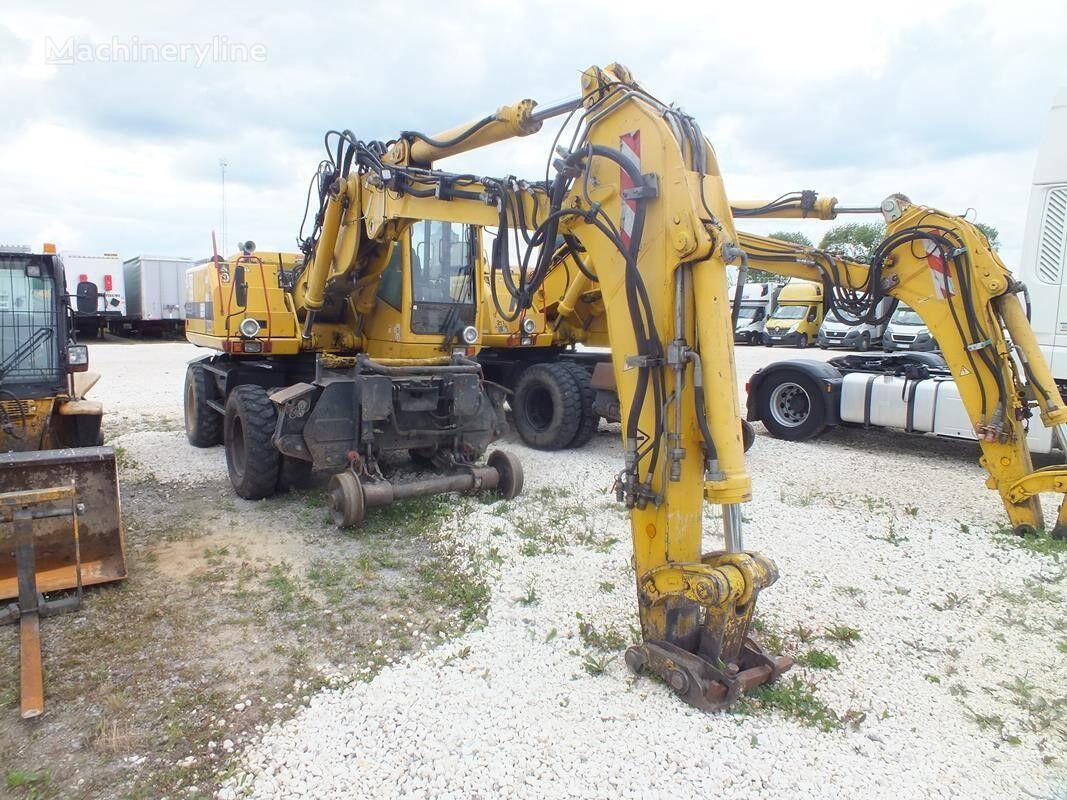 колесный экскаватор ATLAS 16004 ZW / two-way excavator / 125Hp / 1 owner / qood condiction