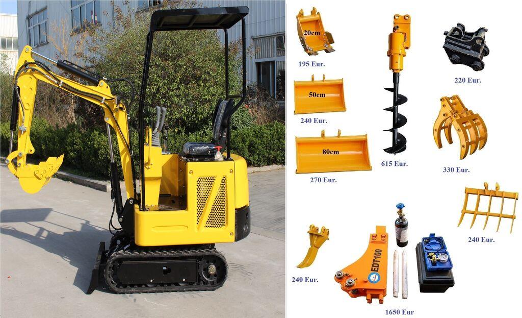 новый мини-экскаватор Günter Grossmann GG800 Mini Excavator