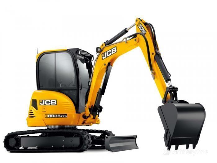 новый мини-экскаватор JCB 8035 ZTS