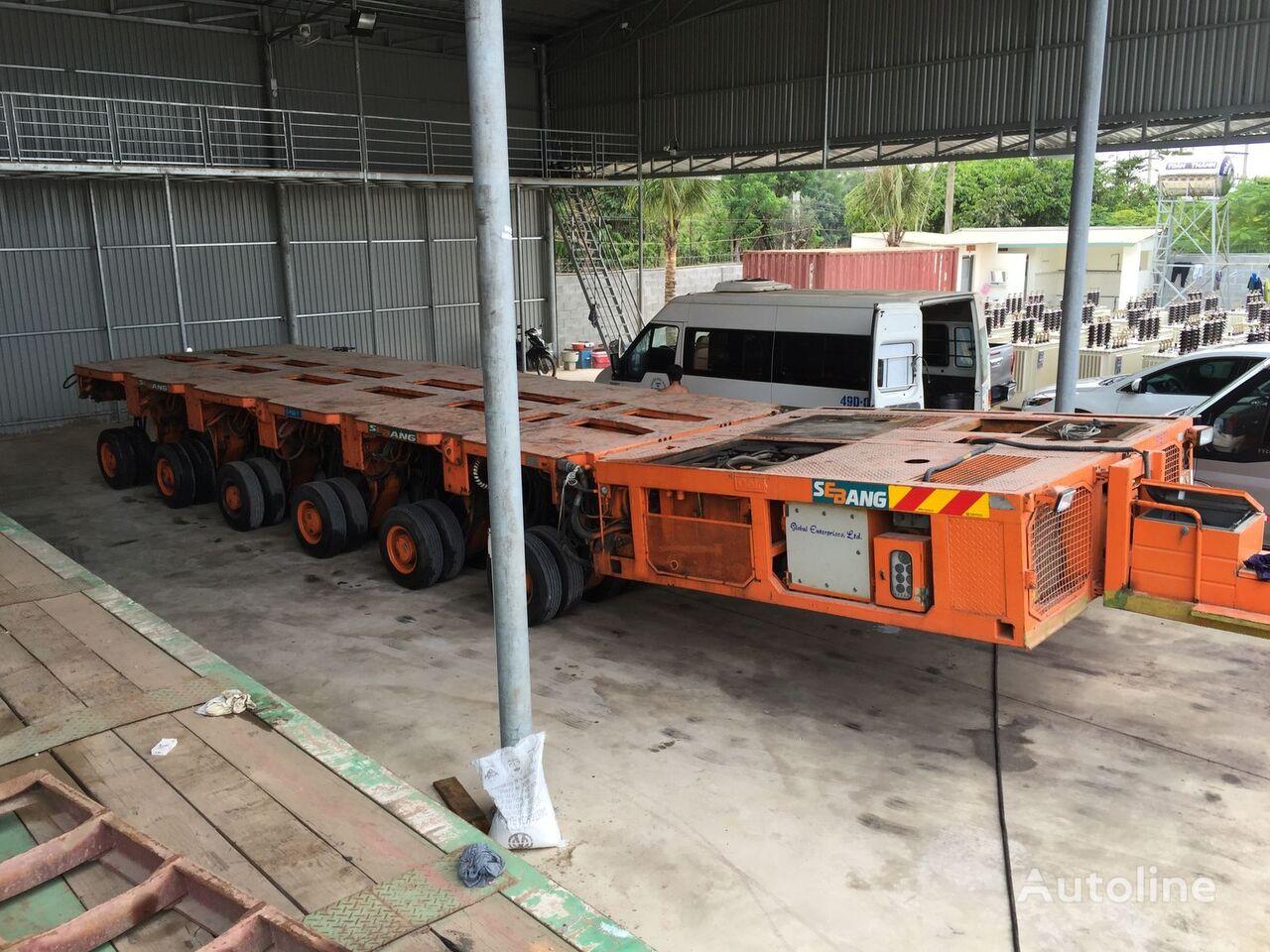 самоходный модульный транспортер GOLDHOFER PTS 09-12x12 - 1526, tieflader
